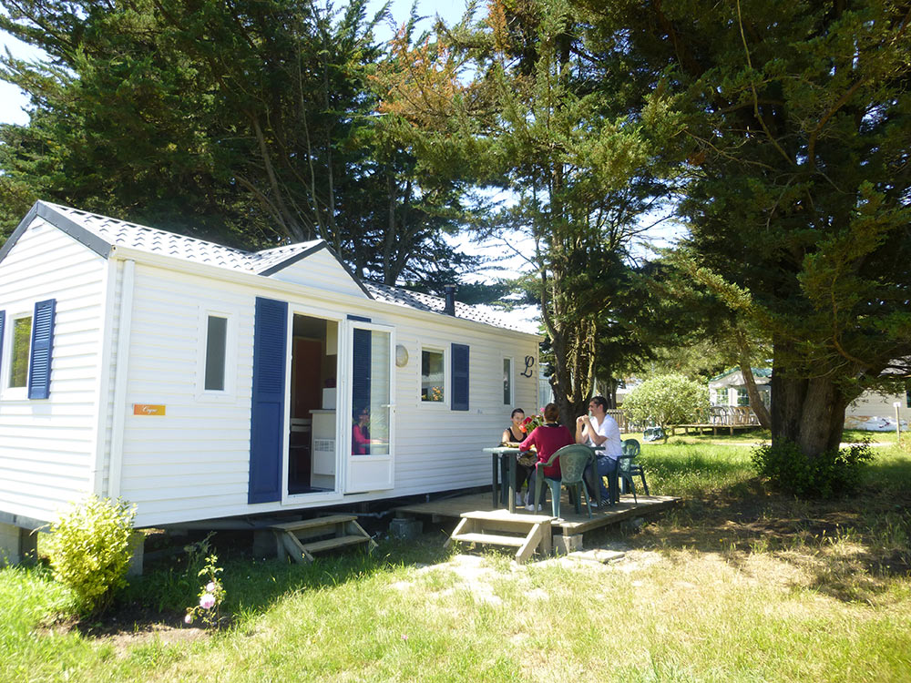 CAMPING CLOS MER ET NATURE Mh Coquillage