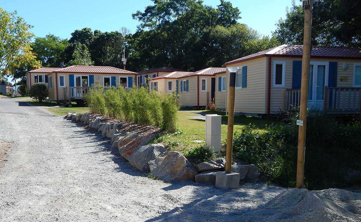 CAMPING CLOS MER ET NATURE Mh Residence2chambres
